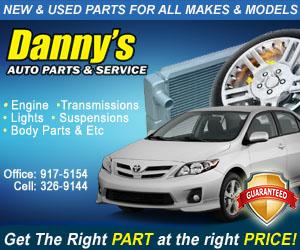 Dannys Auto Parts >> Testimonials